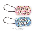 Carnival mini tag {pink or blue}
