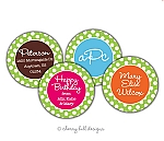 Gumdrop round labels