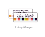 return address labels - set of 75 - CANDY