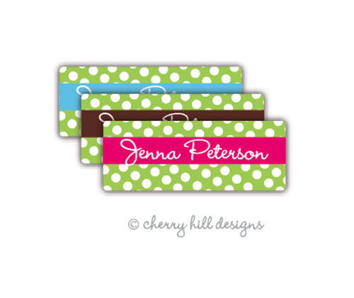 return address labels - set of 75 - GUMDROP