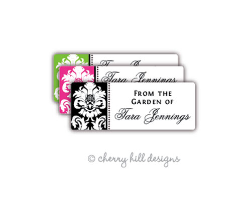 return address labels - set of 75 - MARGEAUX