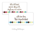 Dot Dot Dot jumbo labels {blue or pink}