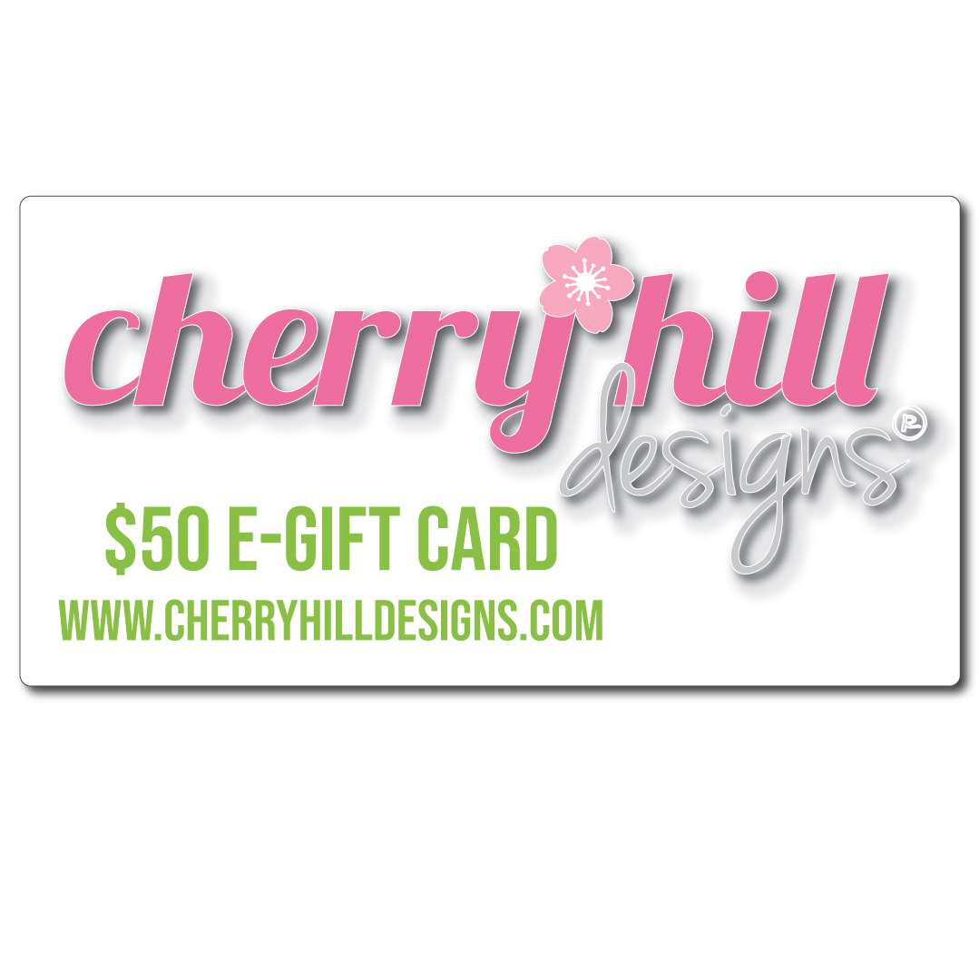 "$50 e-gift card - label with styleâ""¢"