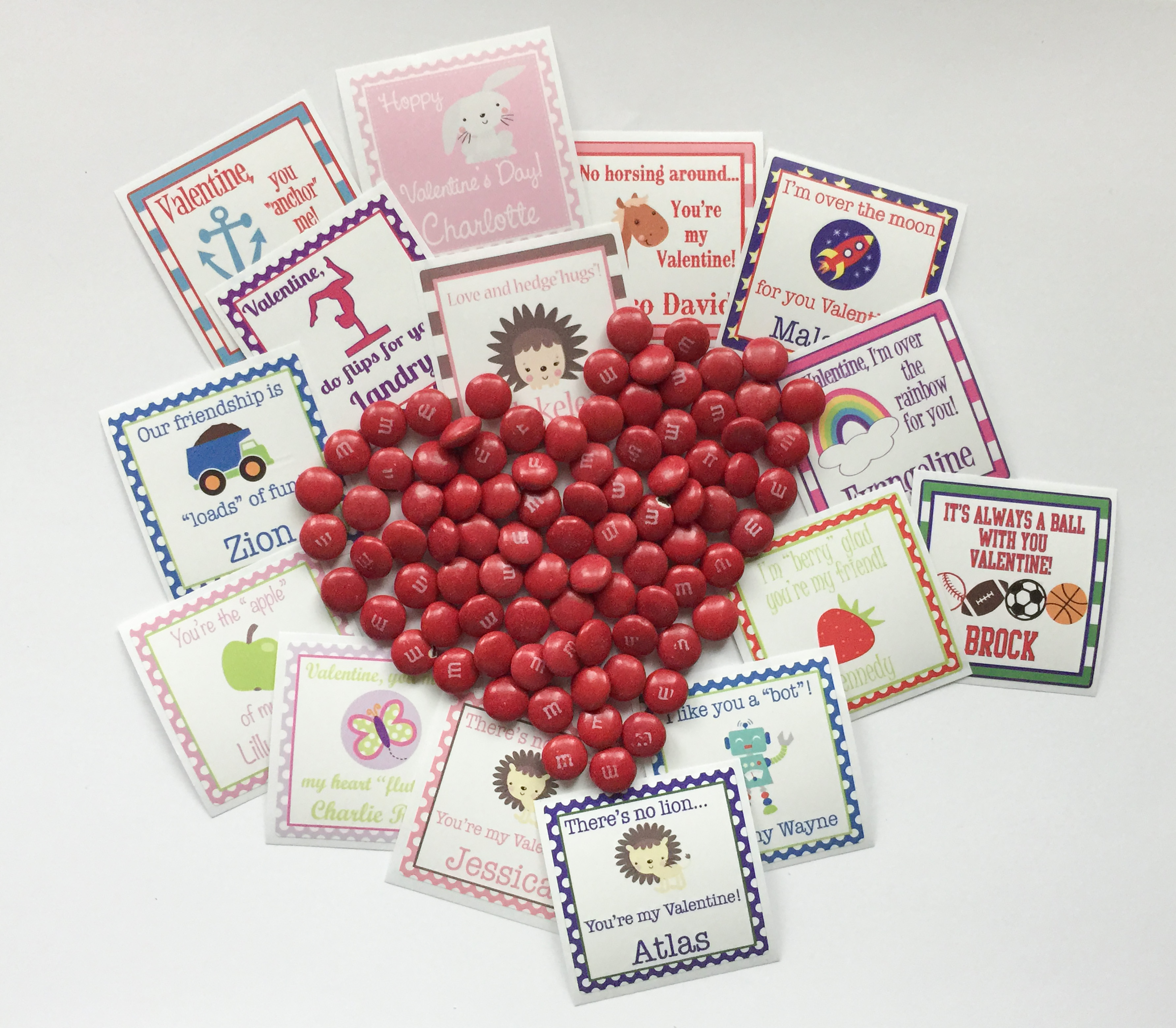 VALENTINES LABELS