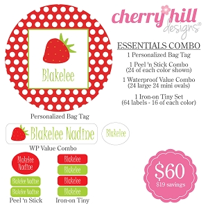 essentials combo pack STRAWBERRY