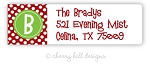 Initially Yours [holiday] return address labels
