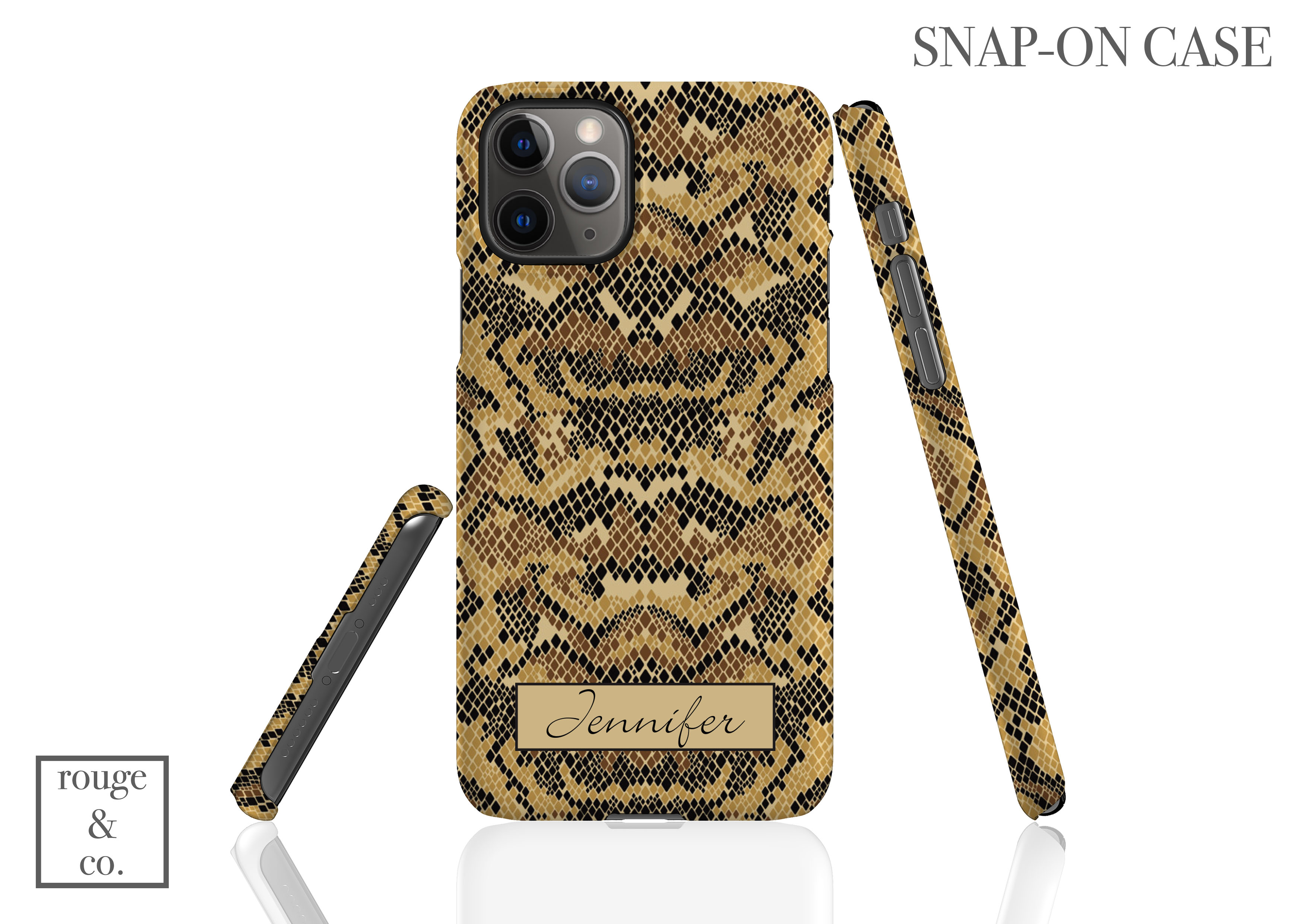 Python Personalized iPhone Case