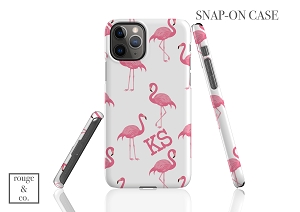 Personalized iPhone Case - FLAMINGO