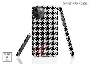 Personalized iPhone Case - HOUNDSTOOTH