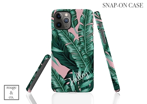 Personalized iPhone Case - PALM LEAF