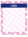 personalized dry erase message board - SAILOR PINK