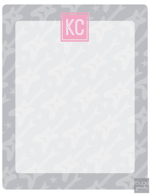 personalized dry erase message board - ROCKSTAR