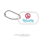 Peace mini tags - set of 2
