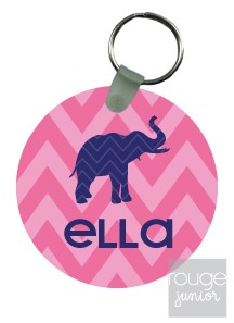 personalized keychain - CHEVRON