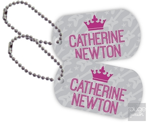 rockstar mini tags - set of 2
