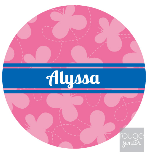 personalized mouse pad - BUTTERFLY