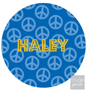 personalized mouse pad - PEACE