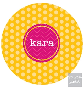 personalized mouse pad - POLKA DOT