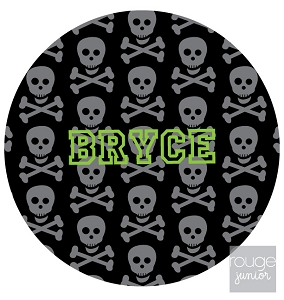 personalized mouse pad - SKULLS