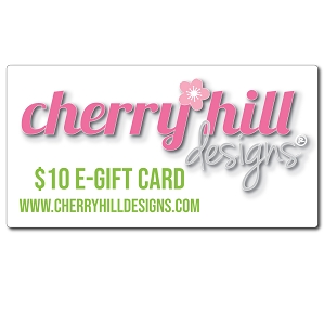 "$10 e-gift card - label with styleâ""¢"