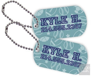 all-star mini tags - set of 2