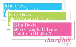 return address labels - set of 75 - COSMOPOLITAN