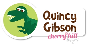 waterproof name labels - set of 24 - DINOSAUR