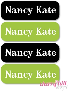 waterproof name labels - set of 64 - HORSE