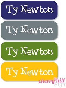 waterproof name labels - set of 64 - ROUGH N TUMBLE
