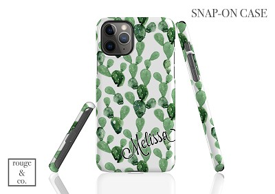 Personalized iPhone Case - CACTUS