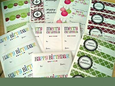 Blank {write-in} gift tags - set of 20