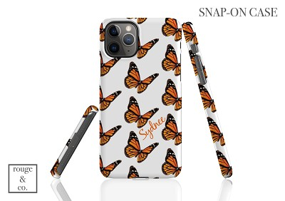 Personalized iPhone Case - BUTTERFLY
