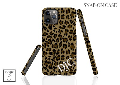 Personalized iPhone Case - LEOPARD