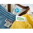 assortment of mini ovals and tiny oblong labels sure to fit most clothing tags -- just peel 'n stick!